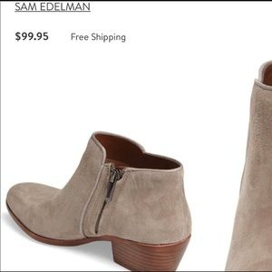 Sam Edelman Shoes - Petty Chelsea Booties